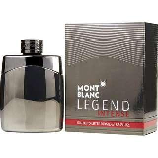 Mont Blanc Legend Intense EDT for Men (50ml/100ml/Tester/Giftset) MontBlanc