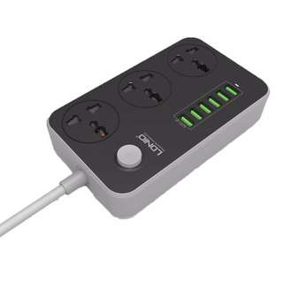 LDNIO SC3604 3.4A Power Socket with 3AC + 6USB Charger Adapter