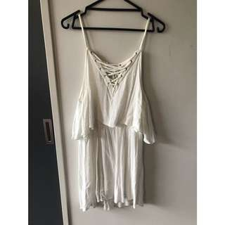 WHITE ASOS SUMMER DRESS