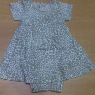 Carter's dress for newborn girl
