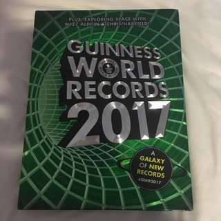 Guinness book of world records 2017
