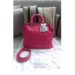 (Price Reduced)Brand New Dior Granville Md Tote - Hot Pink