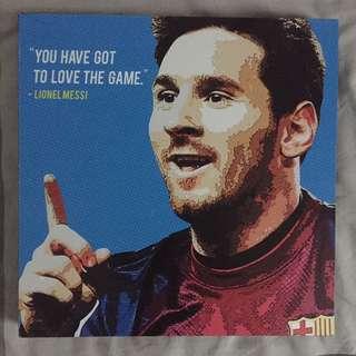 Lionel Messi Canvas