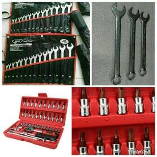 Set Spanar 8MM - 24MM + Set Socket Box Including Screw Driver - SOLD OUT