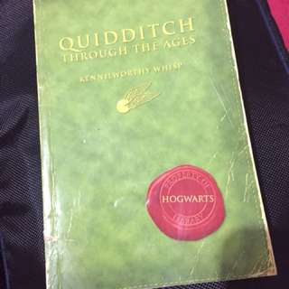 Quidditch Through the Ages by JK Rowling (Harry Potter)