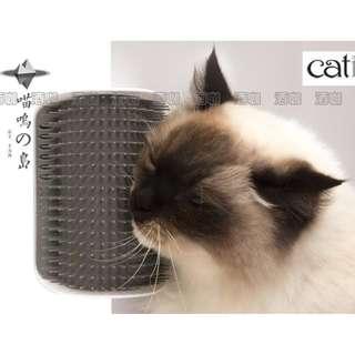 140鏟屎的貓主子牆角蹭毛器梳毛器按摩梳