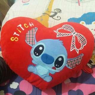 愛心史迪奇抱枕stitch