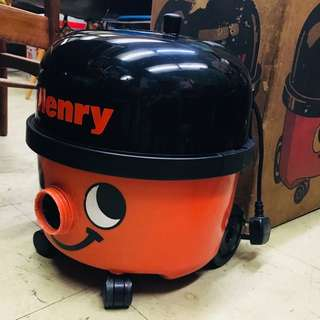 80s Numatic Henry vacuum cleaner full set with box Rare