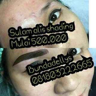 Sulam alis shading m