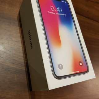 NEW IPHONE X SPACE GRAY 64GB