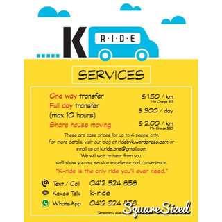 K-ride : Affordable ride in Brisbane