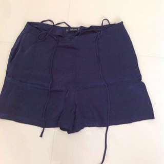 ZARA SHORTS DARK BLUE BIG SIZE - CELANA PENDEK ZARA