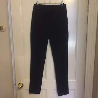 CUE High Waisted Work/ Dress Pants (size 8)