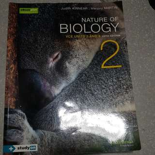 Nature of Biology VCE Units 3&4