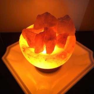 Himalayan Salt Lamp - Fire Bowl