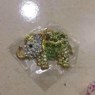 Elephant Swarovski Crystal