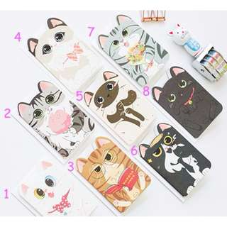 8pc Cat Greeting Cards