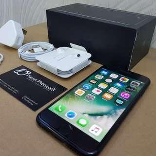 iPhone Second iPhone Bekas iPhone 7 128GB Jet Black Like New inter