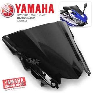 Yamaha R25 Windscreen