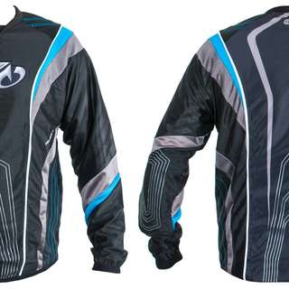 SLY PRO-MERC S12 PAINTBALL JERSEY - BLUE
