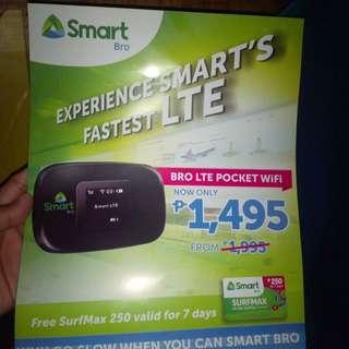 Sim card pocket wifi lte