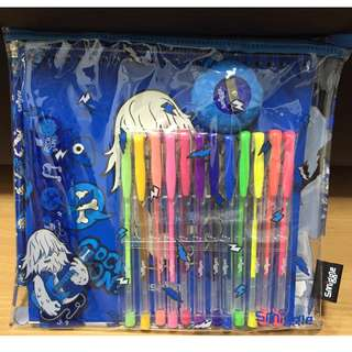 Brand New Smiggle Sketch Gift Pack Blue (Authentic)