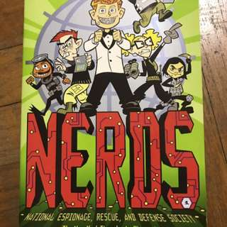NERDS National espionage, rescue, and defense society