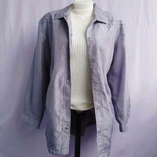 pale gray jacket