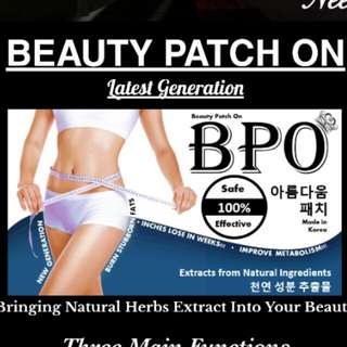 BPO Slimming Patch (stock clearing)