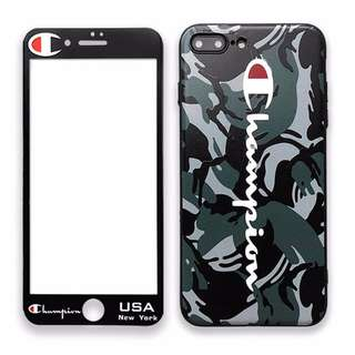 Champion IPhone case+mon貼