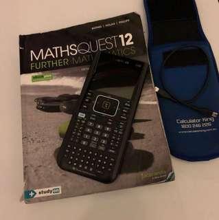 Textbooks and cas calculator