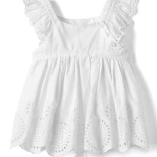 WTS: Baby Gap Eyelet Flutter top (18-24mth)