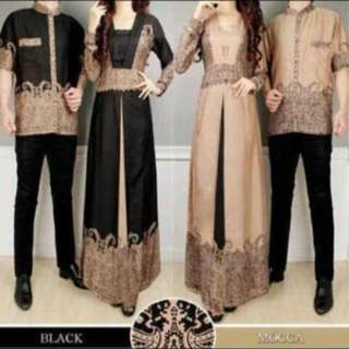 Baju Batik Couple Elegant