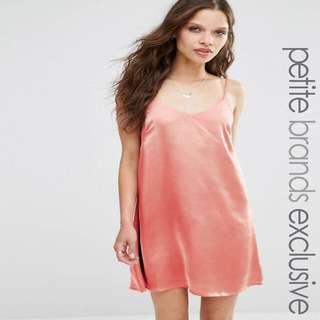 Petite Cami slip dress