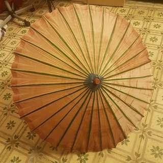 Bamboo paper vintage umbrella