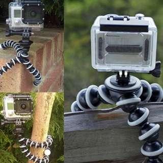 Eeasylifee Flexible Octopus Stand Tripod Gorilla Pod for Phone DV DSLR Camera