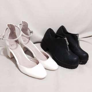 TAKE BOTH (Block Heels & chunky block shoes)