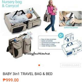 Pre loved multi functional baby bag