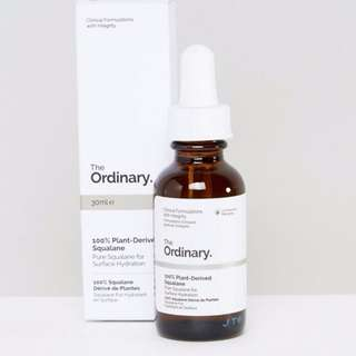 [Ready Stock] The Ordinary 100% Plant-Derived Squalane 30ml