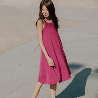 Thread theory In Cool Swing Strappy Back Dress