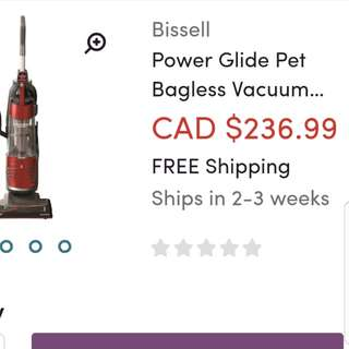 Bissell heavy duty vacuum cleaner