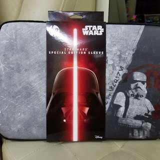 """Brand New hp STAR WARS 15.6"""" notebook sleeve (special edition)"""