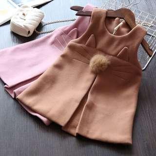 Korea style baby girl fashion dress