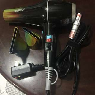 Amika Power Cloud Repair and Smooth hair dryer (風筒)
