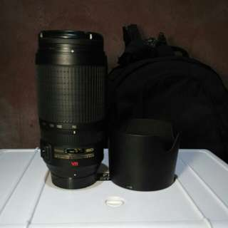 Lensa Nikon 70-300mm VR