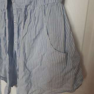 dress shirt with pockets