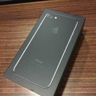 Iphone7 128G 曜石黑 全新