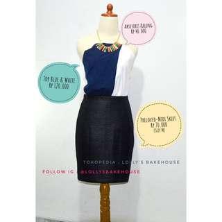 Preloved Midi Skirt