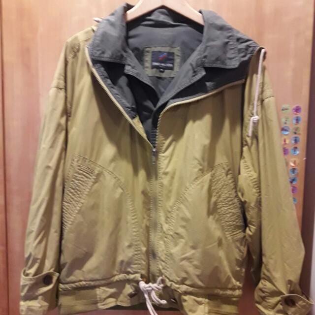 假2件式男性防風外套【#四百好外套】