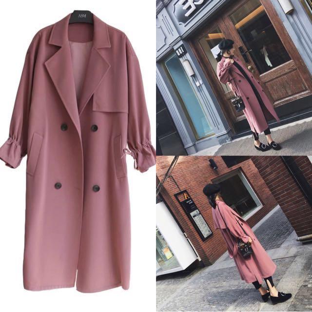 韓國新款韓國風大衣